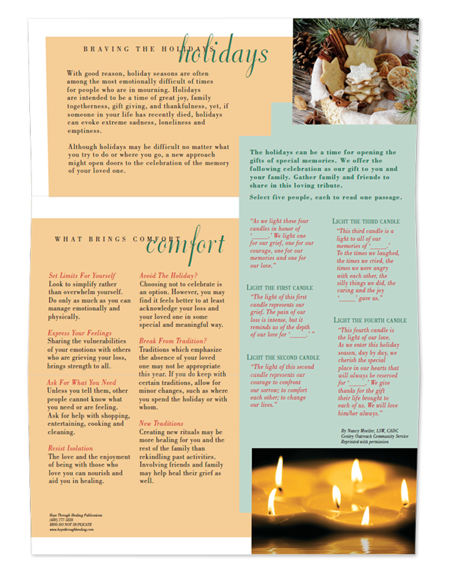 Grief Mail Series: Holiday