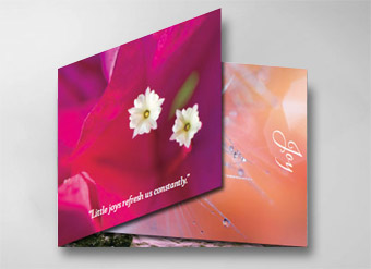 Beautiful greeting cards designed to support healthcare professionals and those they support.