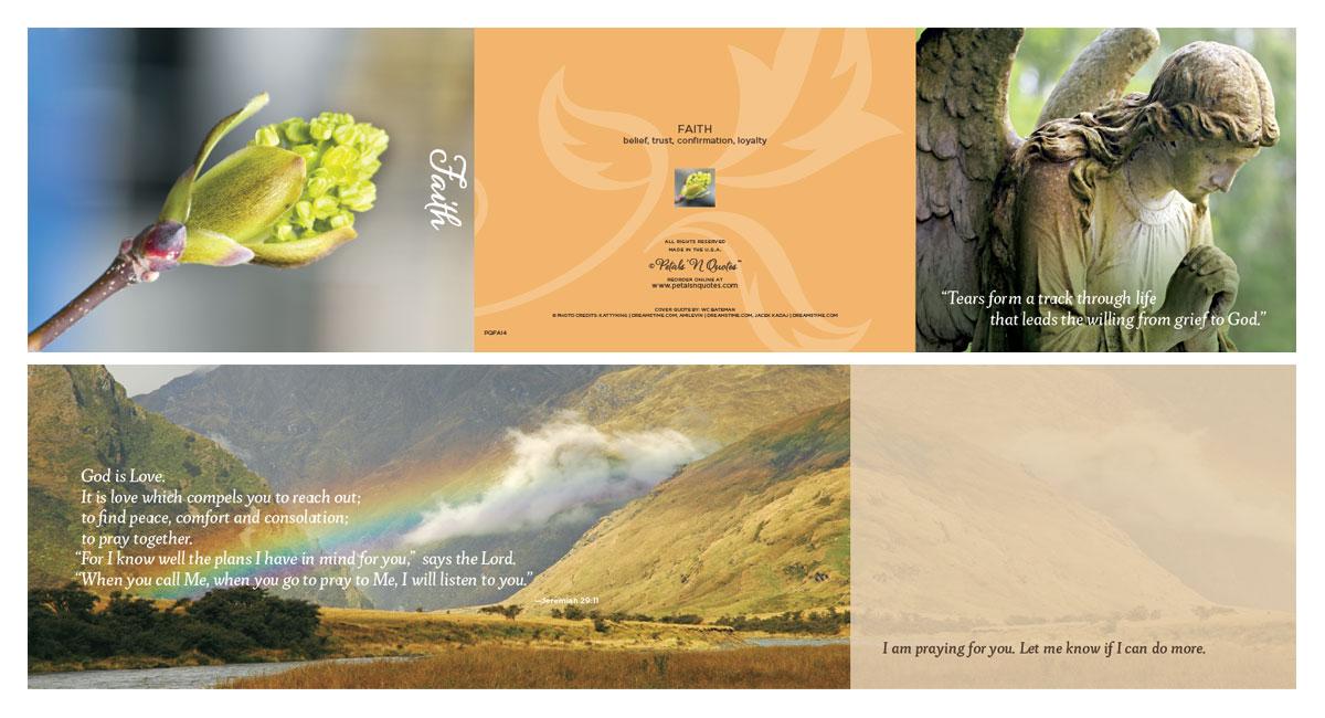 Faith Full card layout