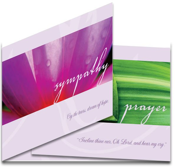 Faith Sympathy Card (non-secular)