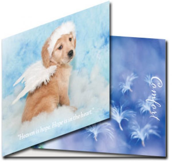 Pet Loss Card (dog)