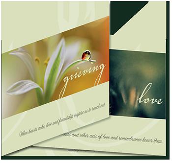 Sympathy Card Secular Folded